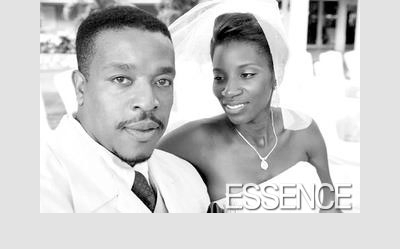 Russell Hornsby with beautiful, cute, Wife Denise Walker